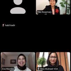 """VoA & AJI Indonesia – Unpatti Gelar Webinar """"Memperkuat Literasi Media di Era Digital: Pengalaman Amerika dan Indonesia"""""""
